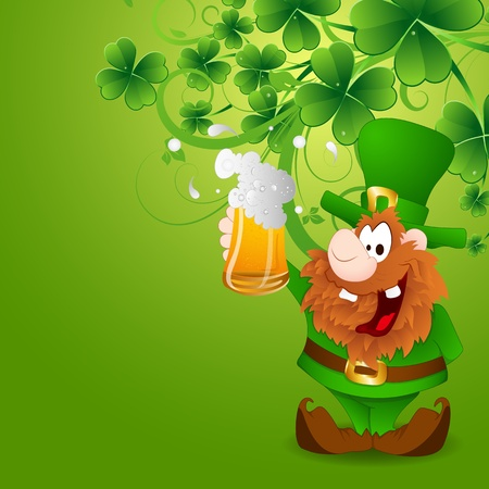 Celebration of St  Patrick's Day Stock Vector - 12860445
