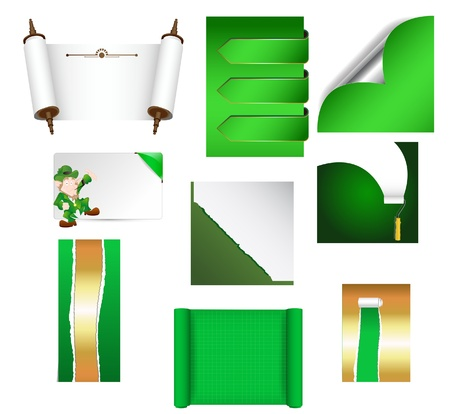 Patrick s Day Paper Vectors Stock Vector - 12861138