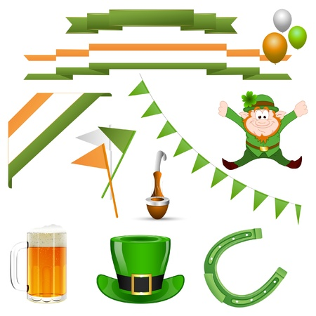 Patrick s Day Vector Elements Stock Vector - 12861083