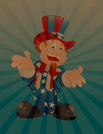 uncle sam: Uncle Sam Vintage Background