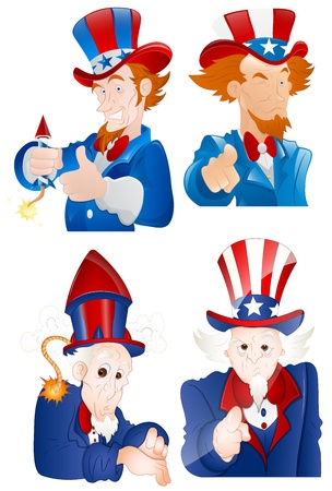 uncle sam: 4th of July Uncle Sam Portraits
