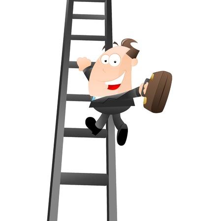 Businessman Growing to Success Stock Vector - 12933541