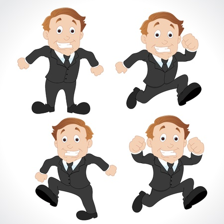 sales executive: Personajes Vendedor