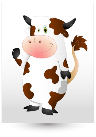 funny ox: Cow
