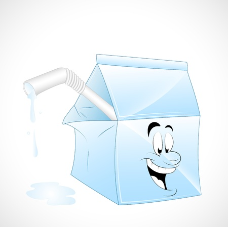 Milk Pack Vector Vector