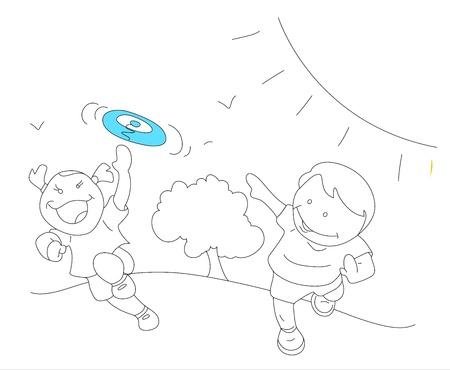 Art of Happy Kids Stock Vector - 13052160