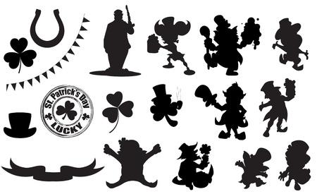 patricks day: Formas del D�a de Patrick caracteres