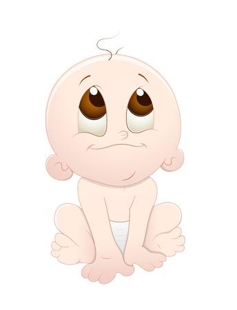 Cute Baby Stock Vector - 13094416