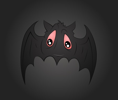 Cartoon Bat Vector Stock Vector - 13249877