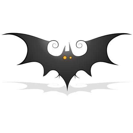 Bat Clipart Stock Vector - 13249880