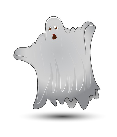 Scary Ghost Vector Vector