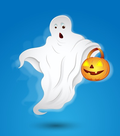 Halloween Ghost Stock Vector - 13249653