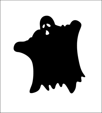 Monster Ghost Stock Vector - 13249648