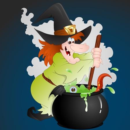 Halloween Witch Stock Vector - 13276867