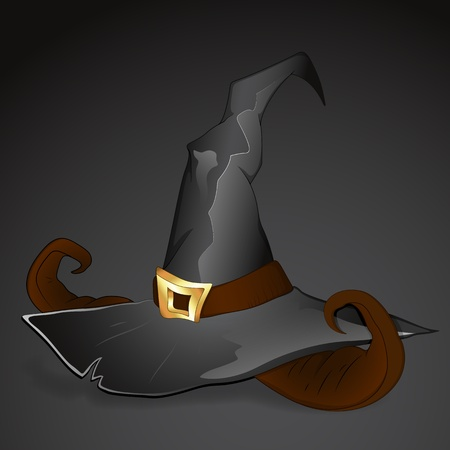 Witch Hat Vector Vector