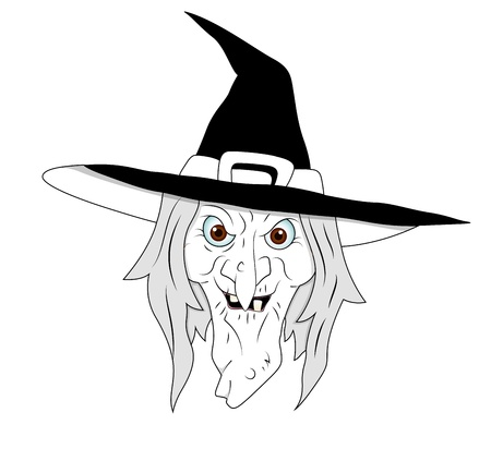 Halloween Witch Clipart Vector