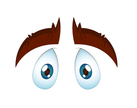 Innocent Eye Stock Vector - 13307815