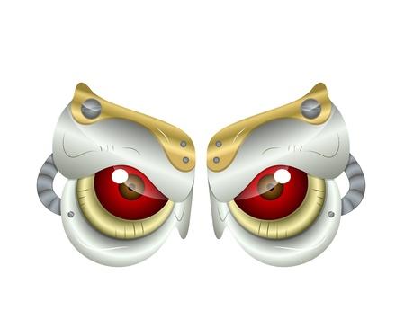 Predator Eyes Vector