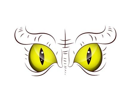 snake eyes: Animal Eye