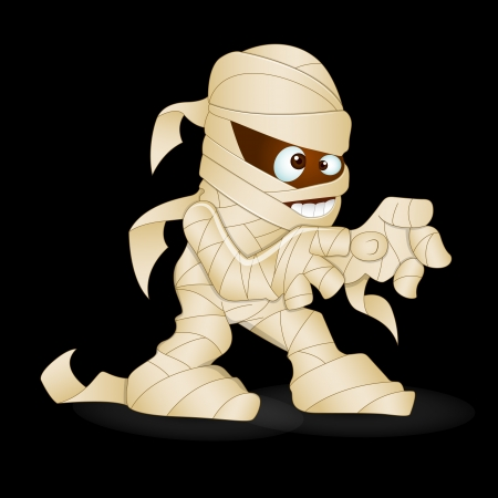 Cute Mummy Vector Vector