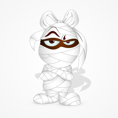 Cute Mummy Vector