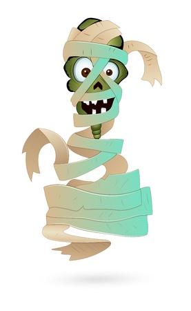Illustration of Scary Mummy Stock Vector - 13307880