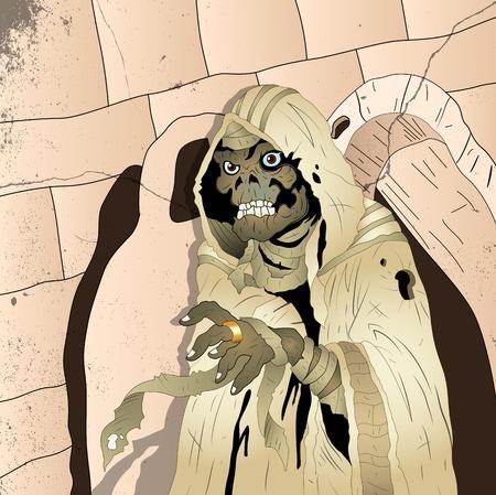 tutankhamen: Spooky Mummy