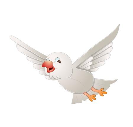 palomas volando: P�jaro en Vuelo Vectores