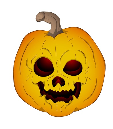 Illustration of Jack O Lantern Vector