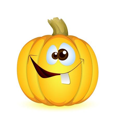 Funny Halloween Pumpkin Stock Vector - 13430232