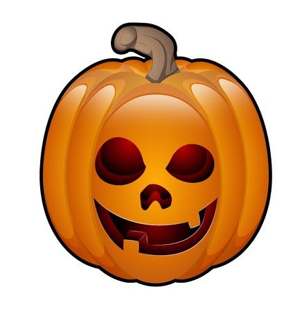 Art of Halloween Jack O Lantern Stock Vector - 13430945