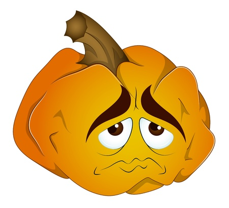 Cartoon Pumpkin Vector Vector