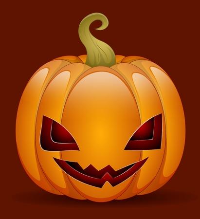 jack o: Cute Jack O Lantern  Illustration