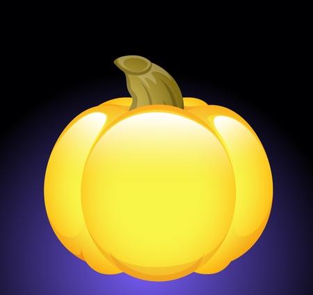 Fresh Pumpkin Illustration Vector