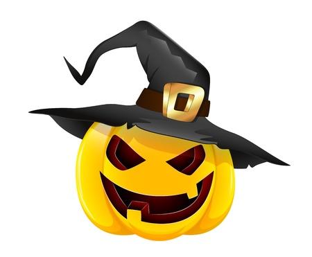 citrouille halloween: Illustration de la citrouille d'Halloween
