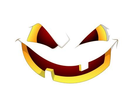 frightful: Scary Halloween Pumpkin Face