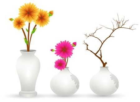 Flower Pot Vectors Vector