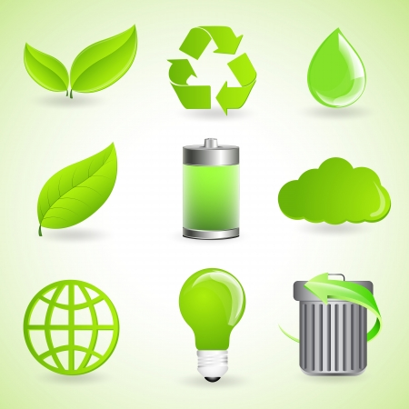 Ecology Vector Icons Vector