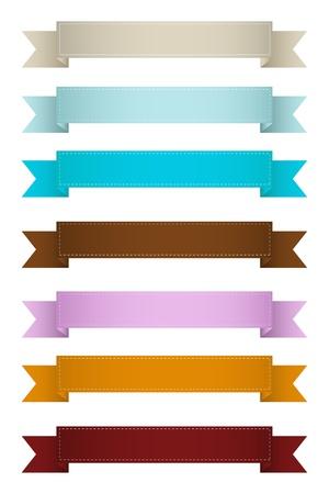 vintage banner: Vintage Web Ribbons