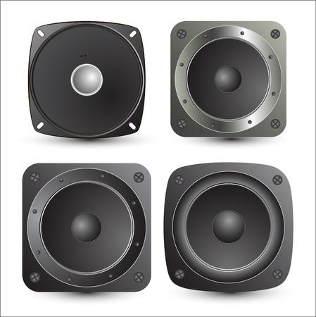 Speakers Vectors Stock Vector - 15142636