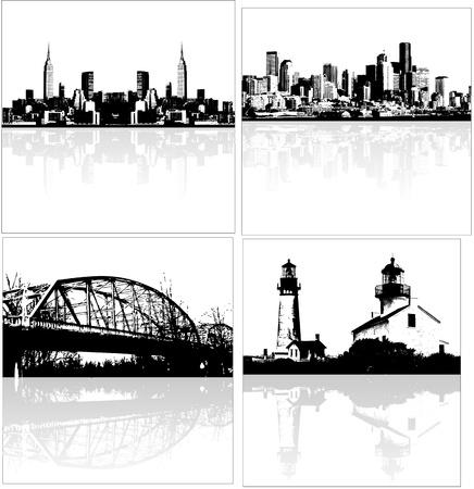 skylines: Vector Skylines