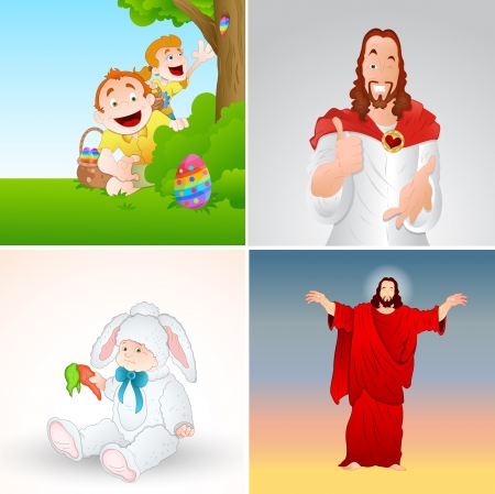 Vectores de Pascua Ilustración de vector