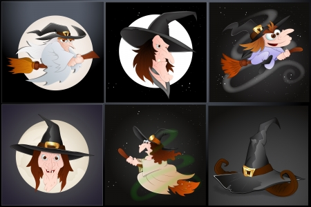 Witch Vectors Vector