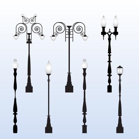street lamp: Street Light Vectors