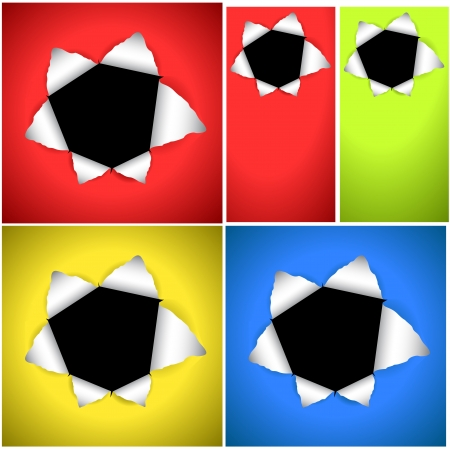 Bullet Hole Vector Backgrounds Stock Vector - 15143300