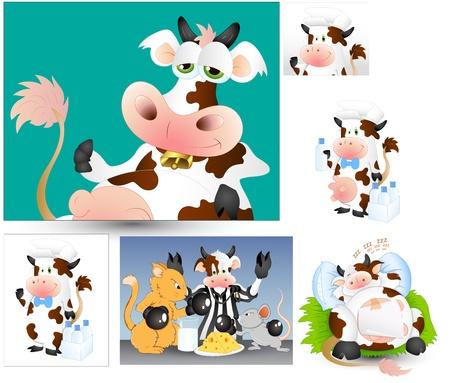 Cows Vectors Vector
