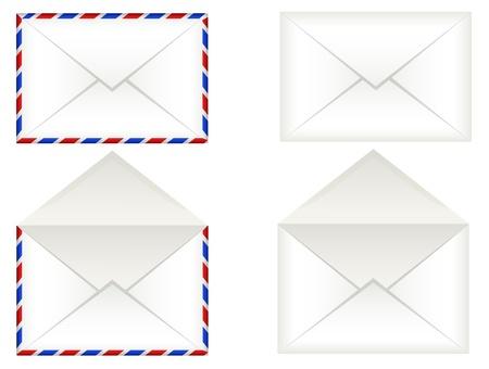 enveloppe ancienne: Enveloppes Illustration