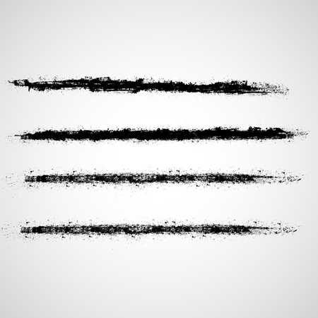 Grunge Strokes  Stock Vector - 15171730