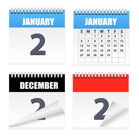turns of the year: Calendars