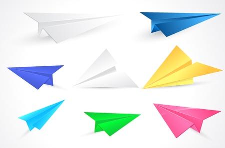 Origami Paper Planes  Stock Vector - 15171711